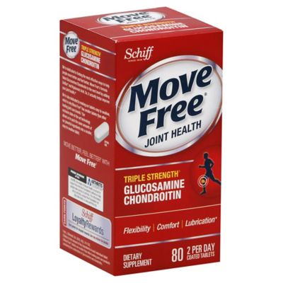 Schiff Move Free Advanced 80-Count Joint Health Tablets