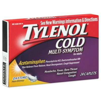 Tylenol® Cold Multi-Symptom Daytime 24-Count Caplets