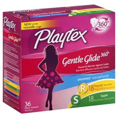 Playtex® Gentle Glide® 360º 36-Count Unscented Multi-Pack Tampons