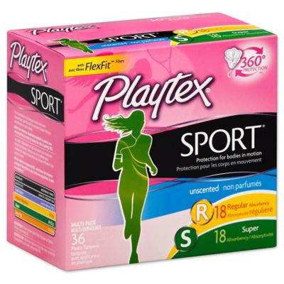 Playtex® Sport™ 36-Count Multi-Pack Unscented Tampons