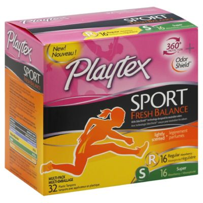Playtex® Sport™ 36-Count Multi-Pack Tampons in Fresh Scent