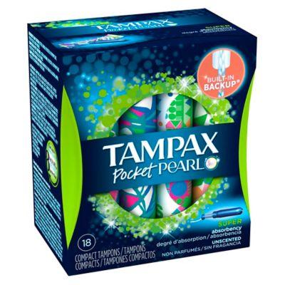Tampax Pearl Compak 20-Count Super Tampons