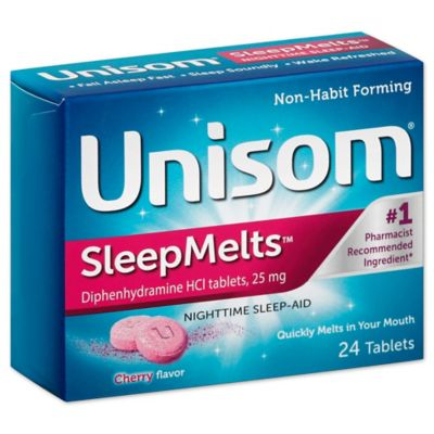Unisom® SleepMelts™ 24-Count Nighttime Sleep-Aid Tablets in Cherry