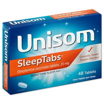 Unisom® SleepTabs® 48-Count Nighttime Sleep-Aid Tablets