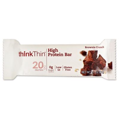thinkThin® 2.1 oz. Brownie Crunch High Protein Bar