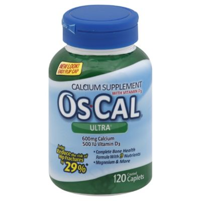 Os-Cal® Ultra 120-Count Calcium Supplement with Vitamin D3 Caplets