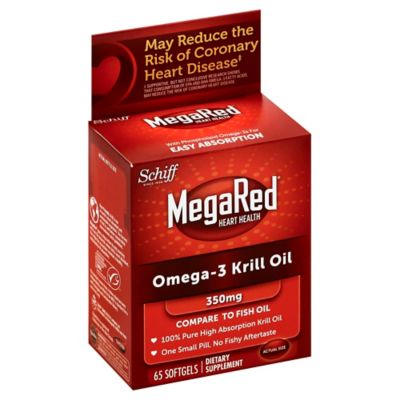 Schiff 60-Count Mega Red Krill Oil