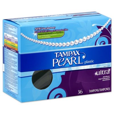 Tampax® Pearl 36-Count Ultra Unscented Tampons