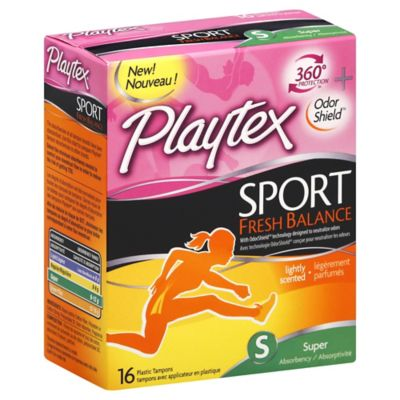 Playtex® Sport® 18-Count Fresh Scent Super Tampons