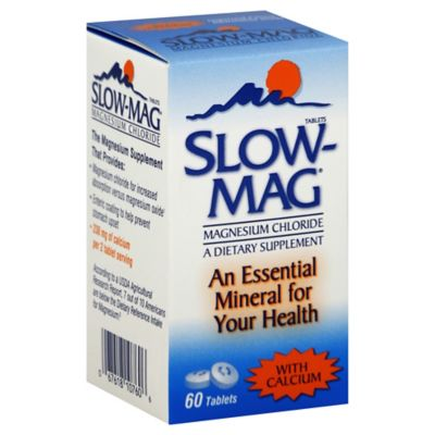 Slow-Mag 60-Count Magnesium Chloride Tablets