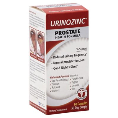 URINOZINC® Prostrate Health Formula Dietary Supplement 60+30 Count