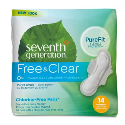 Seventh Generation Feminine Pads