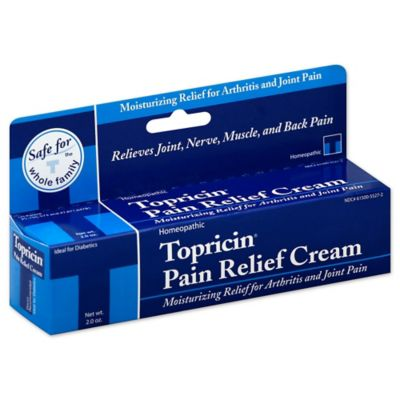 Topricin® 2 oz. Homeopathic Pain Relief and Therapuetic Healing Cream