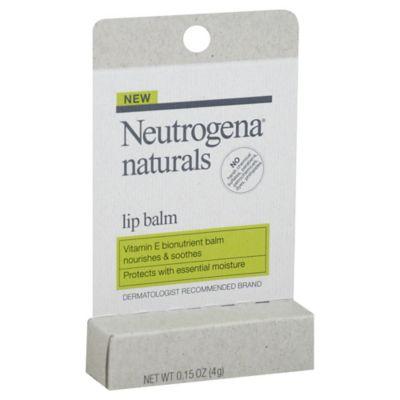 Neutrogena® Naturals .15 oz. Lip Balm