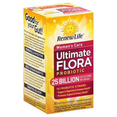 Renew Life® Ultimate Flora™ 25 Billion 30-Count Women's Daily Probiotic Supplement Capsules
