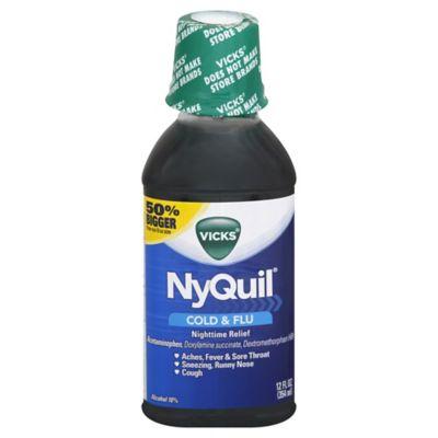 Vicks® NyQuil 12 oz. Original Liquid