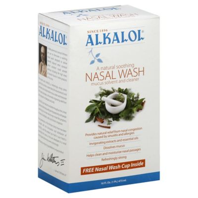 Alkalol 16 oz. Nasal Wash Kit