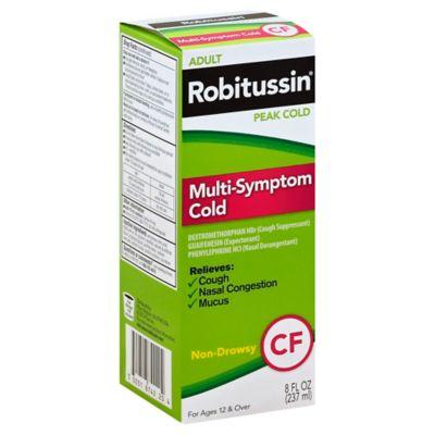 Robitussin® Peak Cold 8 oz. Multi-Symptom Cold Relief Liquid