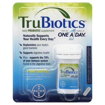 TruBiotics™ Daily Probiotic Supplement 30-Count Capsules