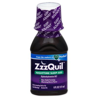Vicks® ZzzQuil™ Nighttime Sleep-Aid 6 oz. Liquid in Berry Flavor
