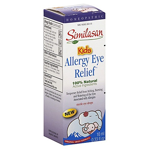Allergy eye drops kids
