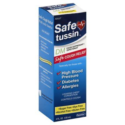 Safetussin® DM 4 oz. Cough Suppressant in Fresh Mint