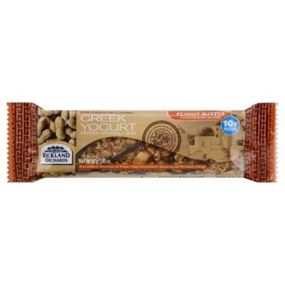 Rickland Orchards Greek Yogurt Coated 1.41 oz. Dark Chocolate Peanut Butter Protein Bar