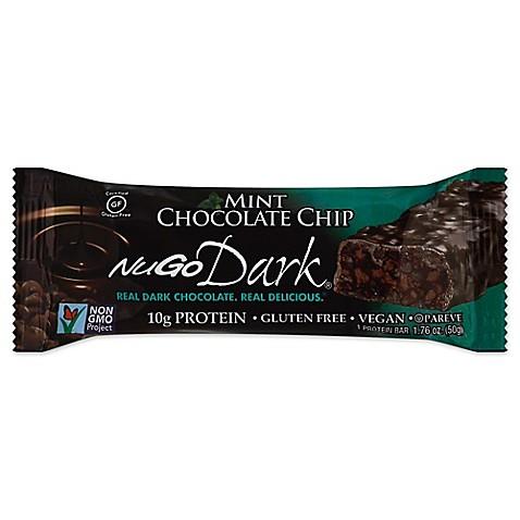 Buy NuGo Dark 1.76 oz. Mint Chocolate Chip Bar from Bed Bath & Beyond