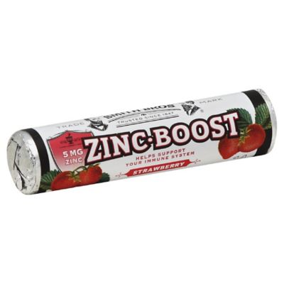 Smith Brothers 14-Count Zinc Boost Tablets in Strawberry