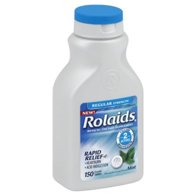 Rolaids 150-Count Regular Strength Tablets in Mint Flavor