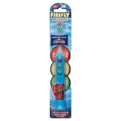 Firefly® Ready Go Brush Spider-Man Light Up Timer Toothbrush