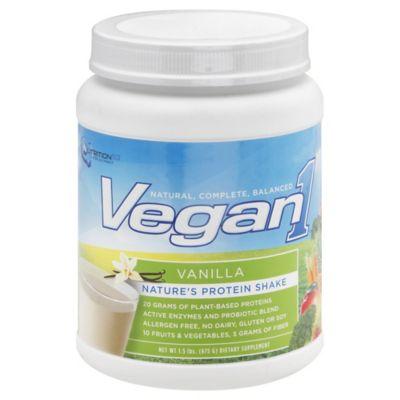 Nutrition 53™ Vegan1™ 24 oz. Protein Shake Powder in Vanilla