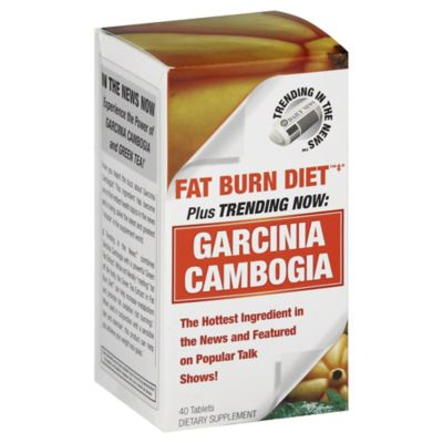 Trending in the News™ Garcinia Cambogia 40-Count Dietary Supplement Tablets