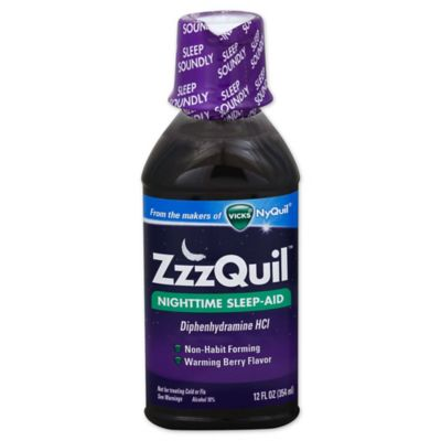 Vicks ZzzQuil 12 oz. Nighttime Sleep-Aid in Warming Berry Flavor