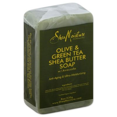 SheaMoisture 8 oz. Olive & Green Tea Shea Butter Bar Soap