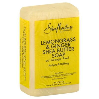 SheaMoisture 8 oz. Lemongrass Bar Soap