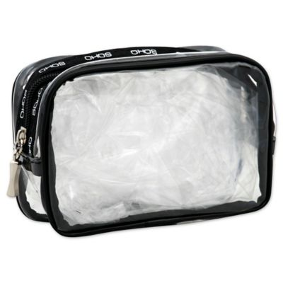 Soho Round Clear PVC Clutch