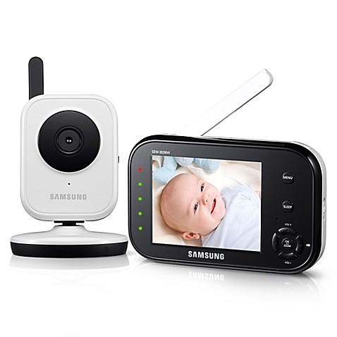 samsung babyview video baby camera and monitor with 3 5 inch color lcd screen buybuy baby. Black Bedroom Furniture Sets. Home Design Ideas