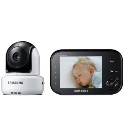 Samsung SafeVIEW Video Baby Camera and Monitor with 3.5-Inch Color LCD Screen