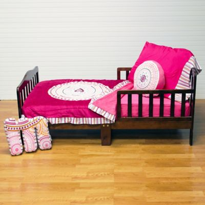 Black White and Pink Bedding Sets