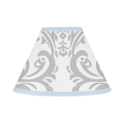 Sweet Jojo Designs Avery Lamp Shade in Blue and Grey