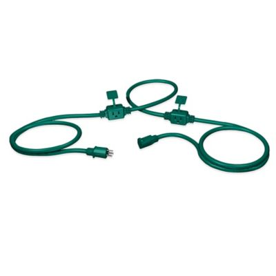 Stanley® PowerMax 25-Foot Outdoor Extension Cord in Green