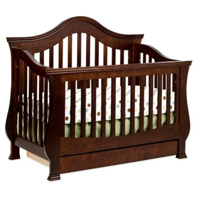 Million Dollar Baby Classic Ashbury 4-in-1 Convertible Crib in Espresso
