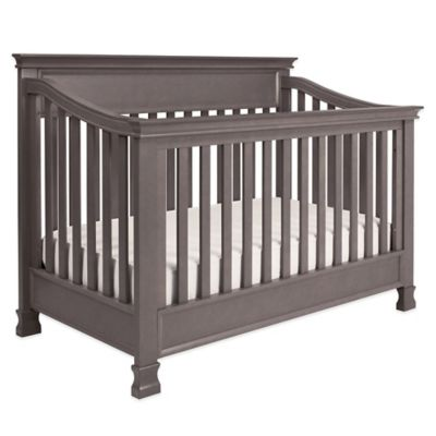 Grey Convertible Crib