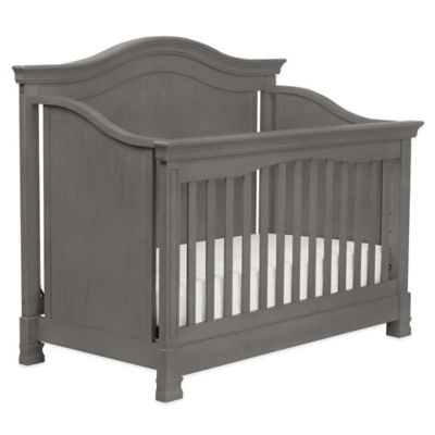 Million Dollar Baby Classic Louis 4-in-1 Convertible Crib in Manor Grey