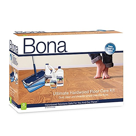 Bona ultimate hardwood floor care kit for Bona floor cleaner