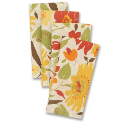 Blooms Fabric Napkins (4-Pack)