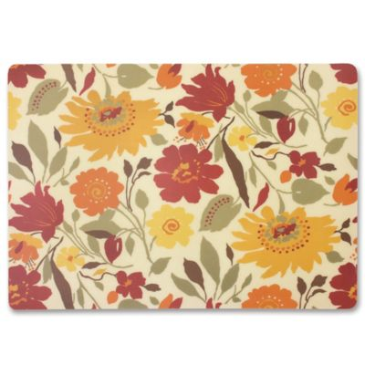 Blooms Laminated Fabric Placemat