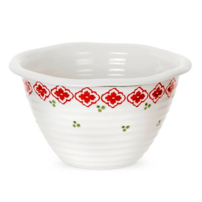 Sophie Conran for Portmeirion® Christmas Deep Bowl in Candy Cane