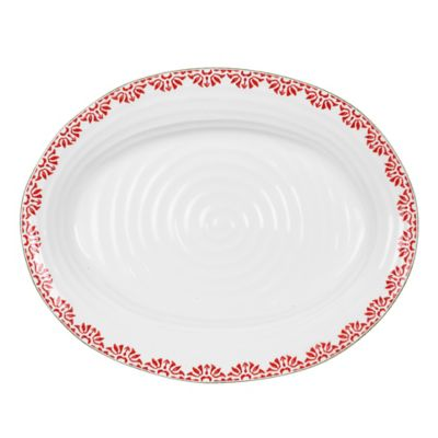 Sophie Conran for Portmeirion® Christmas Medium Oval Platter in Christmas Star